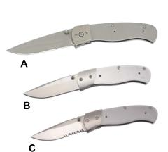 605 series of folding knife kits