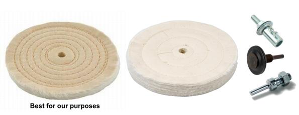 how to use a buffing wheel